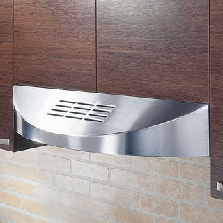 KOBE CHX3836SQBD-3 Brillia 36-inch Under Cabinet Range Hood, with 3-Speed, 400 CFM, LED Lights, Baffle Filters