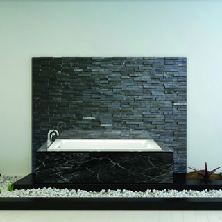 Fine Fixtures Extra-Small 48-inch Soaking Bathtub