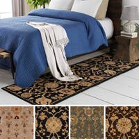 Hand-Tufted Amble Floral Wool Rug (2'3 x 8')