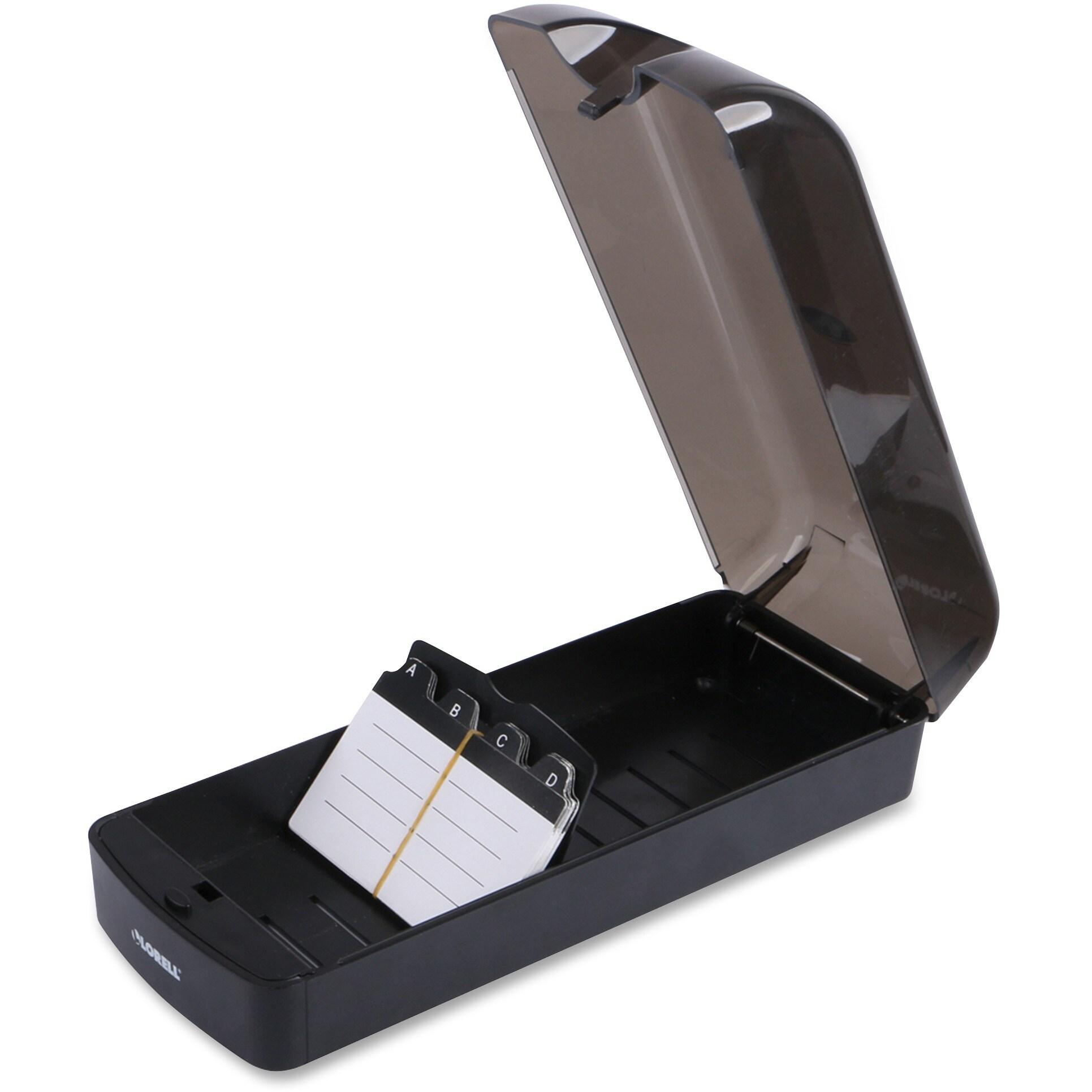 Lorell Desktop Rotary Card File