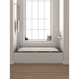 Fine Fixtures 66-inch Soaking Drop-in or Alcove Bathtub