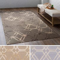 Hand Hooked Calle Wool Area Rug (6' x 9')
