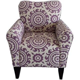 Adeco Dana Medallion Arm Chair