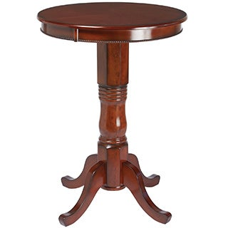 RAM Game Room Round Chestnut Brown Pub Table