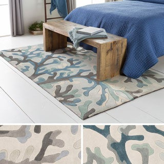 Hand Tufted Gion Polyester Rug (5' x 8')