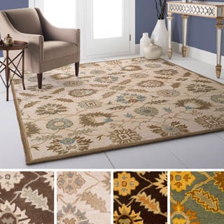 Hand Tufted Guoliang Wool Rug (8' Square)
