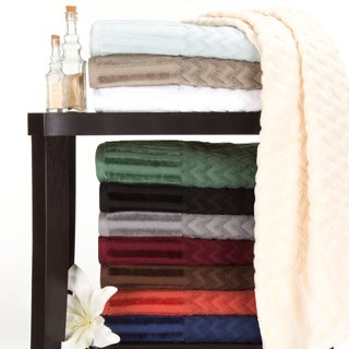 Windsor Home Chevron Cotton 6 Piece Towel