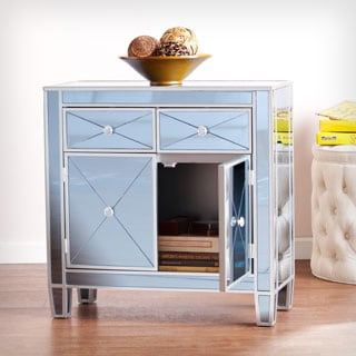 Harper Blvd Misty Mirrored Cabinet