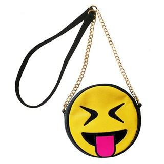 Olivia Miller Cool Emoji Crossbody Handbag