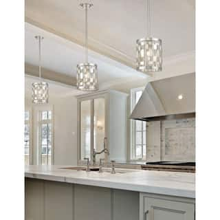 Avery Home Lighting Almet Brushed Nickel 1 Light Mini Pendant