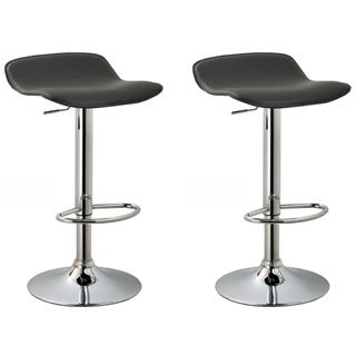 Modern Adjule Barstools Set Of 2 On Free Shipping Today 11205230