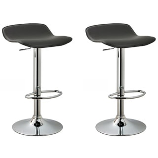 Modern Adjustable Bar Stools Set Of 2 23 5 31 5 Quot H