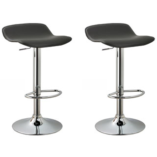 Modern Adjustable Barstools (Set of 2)