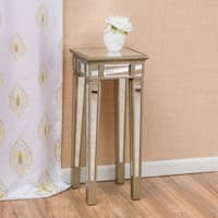 Crawford Vintage Mirror End Table by Christopher Knight Home