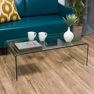 Ramona Glass Rectangle Coffee Table by Christopher Knight Home|https://ak1.ostkcdn.com/images/products/P18195845p.jpg?impolicy=medium