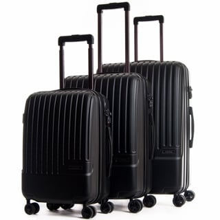 CalPak Davis Expandable 3-Piece Hardside Spinner Luggage Set