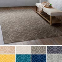 Hand-Loomed List Wool Rug - 6' x 9'