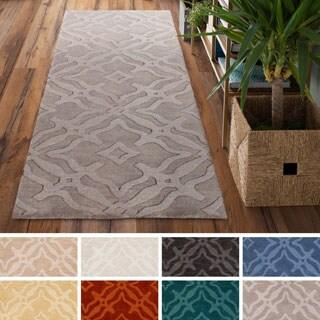 Hand-Loomed Ledo Wool Rug (2'3 x 14')