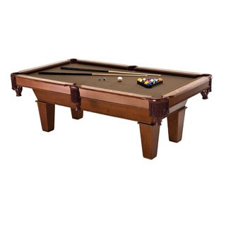 Fat Cat Frisco 64-0127 7 ft. Billiard Game Table with Play Package - Black