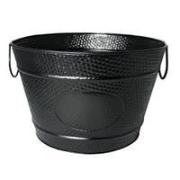 BREKX Hillcrest Black Pebbled Beverage Bucket