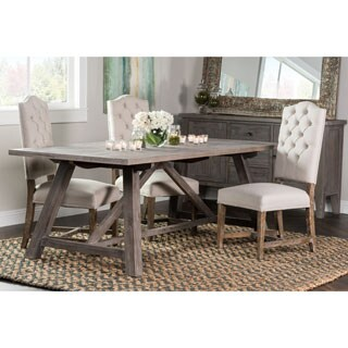 Aubrey Rustic Grey 72-inch Dining Table by Kosas Home