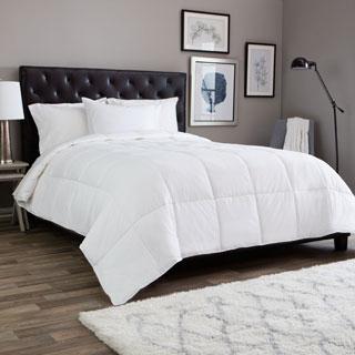 Cotton Light Weight PrimaLoft Down Alternative Comforter