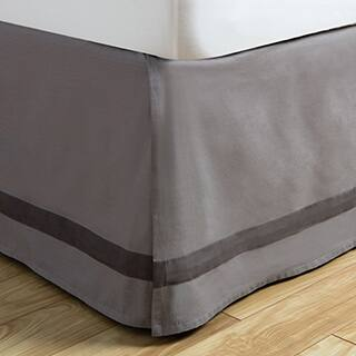Andrew Charles Atlas Collection Grey Cotton Bed Skirt|https://ak1.ostkcdn.com/images/products/P18352708a.jpg?impolicy=medium