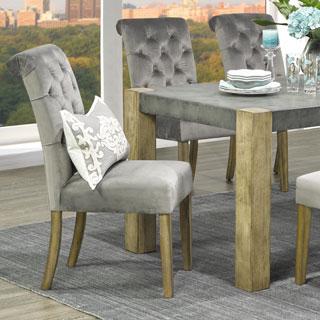 Avania Tufted Velvet Dining Chair (Set of 2)