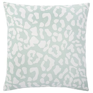 Andrew Charles Atlas 20-inch Ocelot Print Throw Pillow