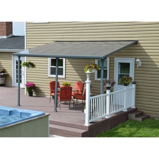 Palram Feria Grey Patio Cover (10' x 14')