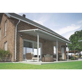 Palram Feria White 10ft. x 20ft. Patio Cover