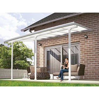 Palram Feria White 10ft. x 14ft. Patio Cover