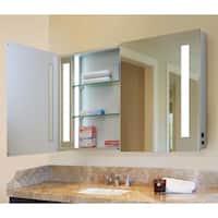 """Shop Fresca 60"""" Wide Bathroom Medicine Cabinet w/ Mirrors ..."""