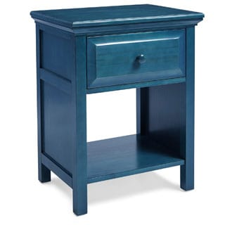 Mantua Cottage Style Wedgewood Blue Nightstand