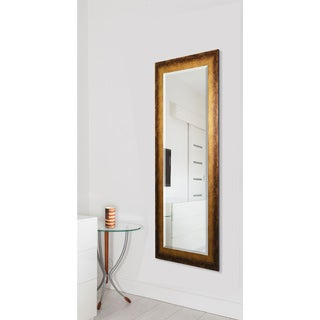 American Made Rayne Tarnished Bronze Beveled Body Mirror