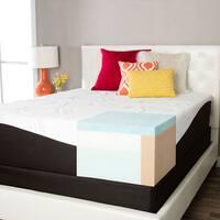 ComforPedic from Beautyrest Choose Your Comfort 14-inch King-size Gel Memory Foam Mattress Set
