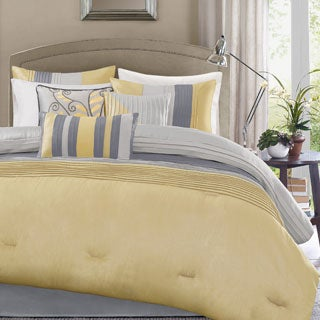 Palm Canyon Serenity Yellow 7-piece Comforter Set (3 options available)