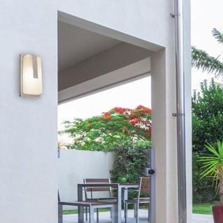 Access Lighting Neptune LED Light Outdoor Satin Marine Grade Wall Fixture