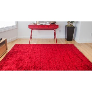 Greyson Living Willow Red Olefin Area Rug (7'9 x 10'6)