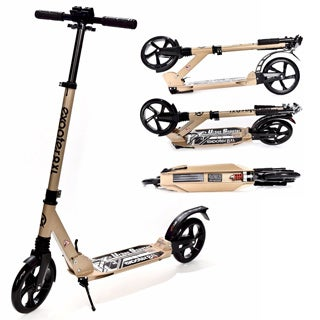 EXOOTER M1350BZ Bronze 8XL Adult Cruiser Kick Scooter with Suspension Shocks