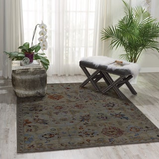Nourison Timeless Taupe Rug (5'6 x 8')