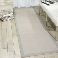 Nourison Sisal Soft Stone Area Rug - 2'6 x 8'