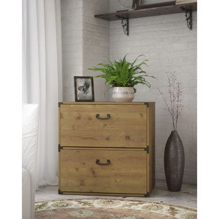 kathy ireland Office by Bush Furniture Ironworks Lateral Filing Cabinet