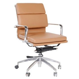Eames Style Executive Leather Office Chair