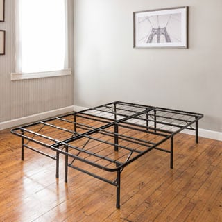 postureloft hercules platform 14 inch heavy duty twin size metal bed frame mattress