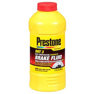 Prestone AS400 12 Oz Synthetic Brake Fluid