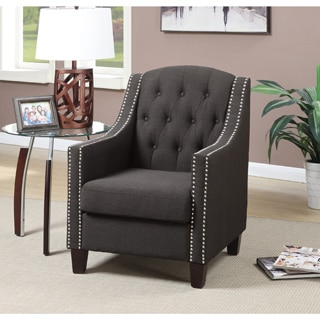 Beverly Tufted Nailhead Trim Accent Arm Chair