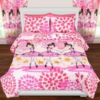 Crayola Twinkle Toes Comforter Set - Multi