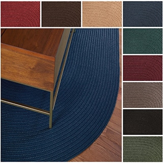 Rhody Rug Madeira Indoor / Outdoor Oval Rug (7' x 9')