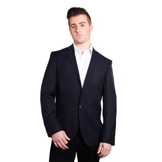 Elie Balleh Milano Italy Men's Cotton Slim Fit 2015 Style Jacket/Blazer (Option: S)|https://ak1.ostkcdn.com/images/products/P18612013z.jpg?_ostk_perf_=percv&impolicy=medium